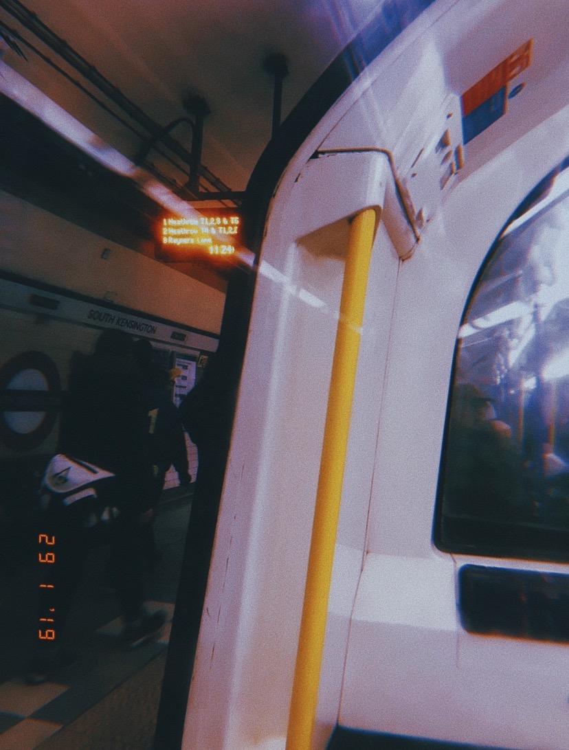 Taking the Train (2019) South Kensington Tube Station (London Underground)