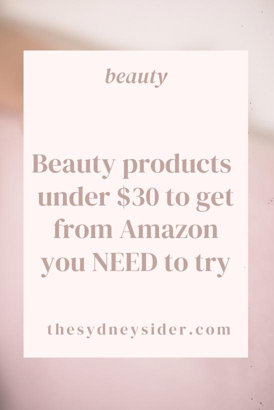Amazon Beauty Wishlist [under $20]