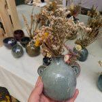 christmas gift idea budvase cernamic vase homeware decor