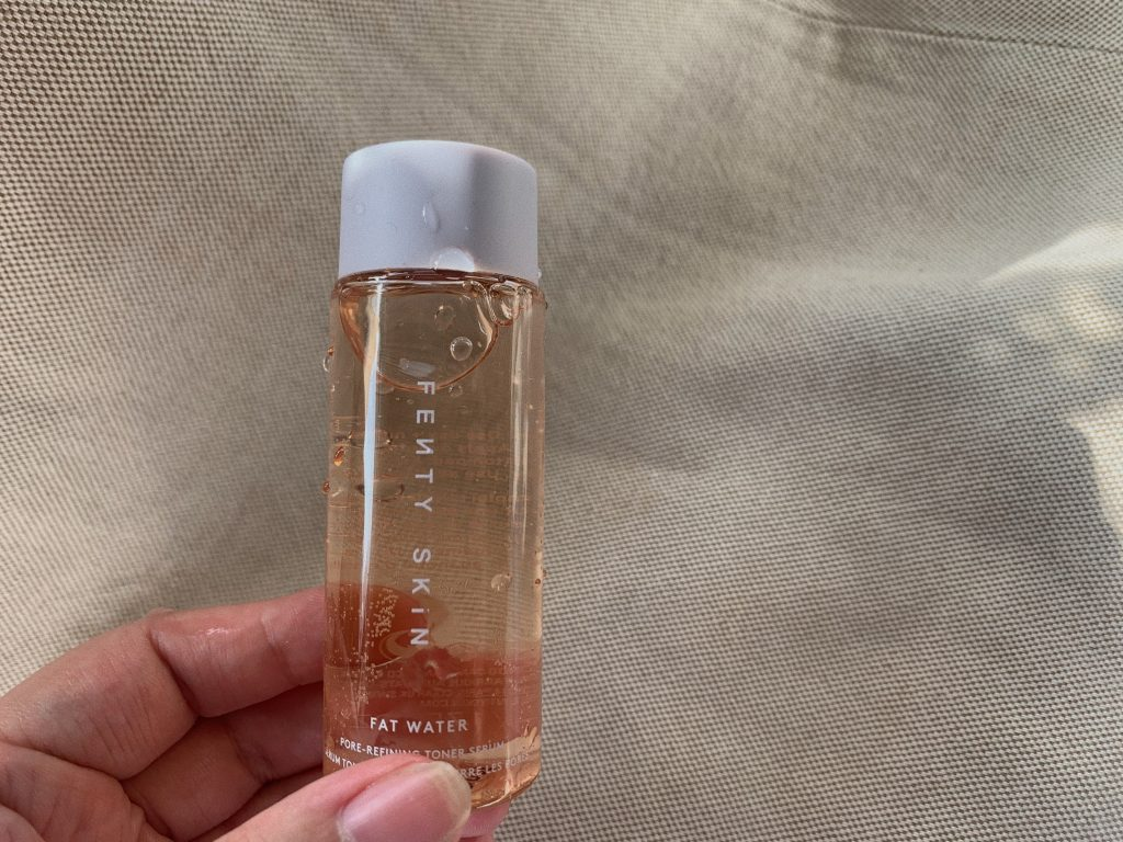 fenty skin skincare fat water toner serum pore