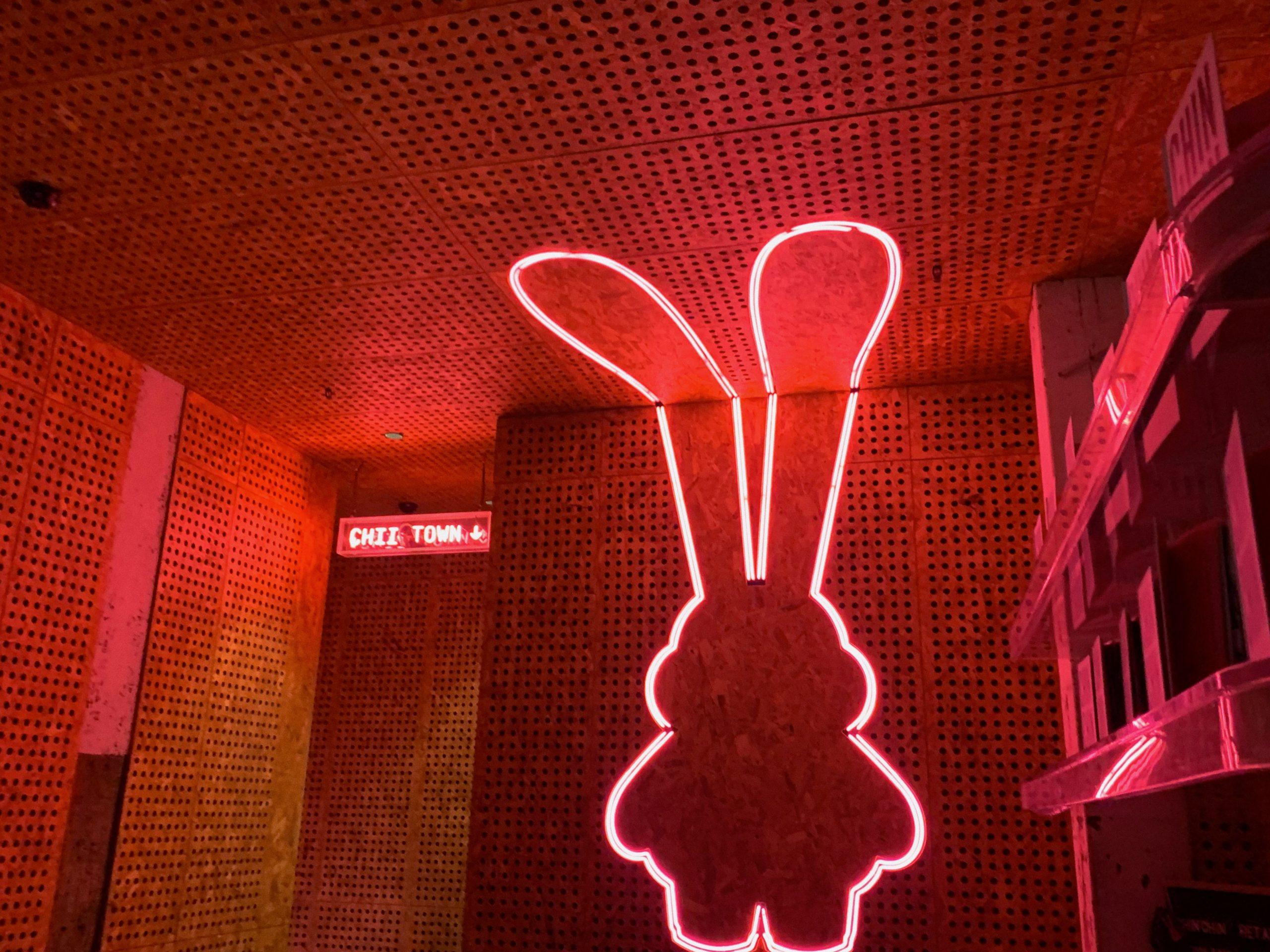 chin chin melbourne surry hills sydney restaurant asian pink neon
