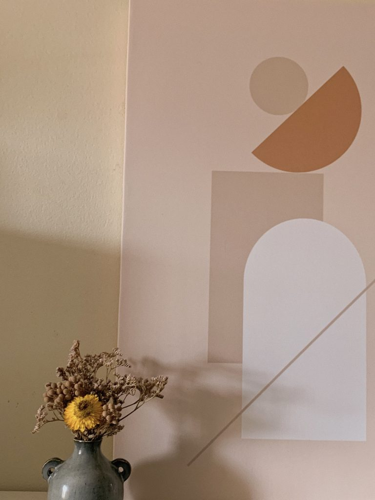 photowall canvas print abstract minimalist wall room decor pinterest