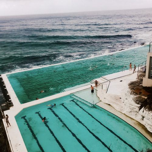 bondi icebergs pool bondi beach summer sydney