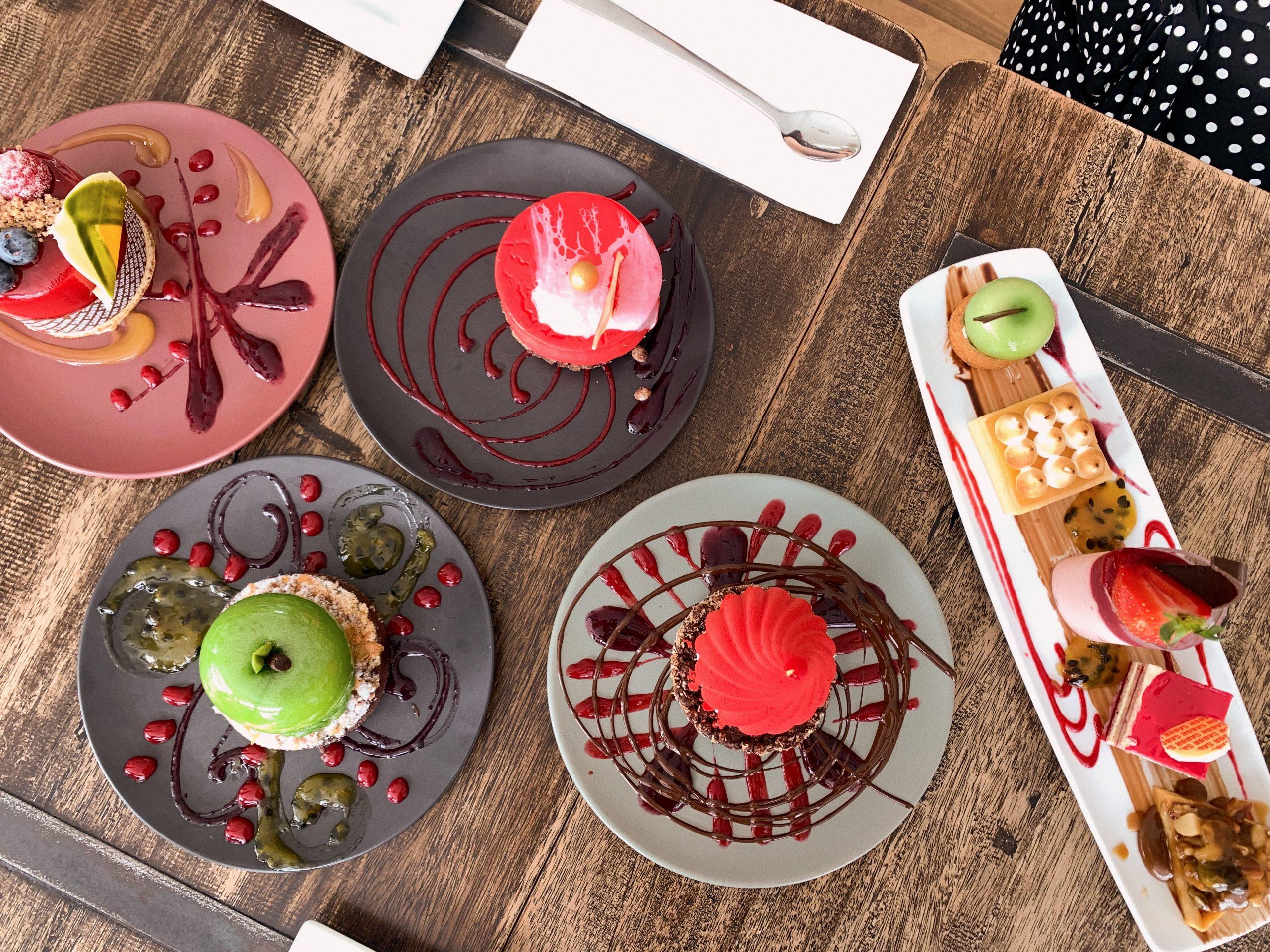 sabor dessert bar hunter valley instagram apple tart cakes