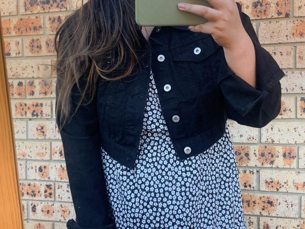 femme luxe denim jacket haul review pinterest plus size