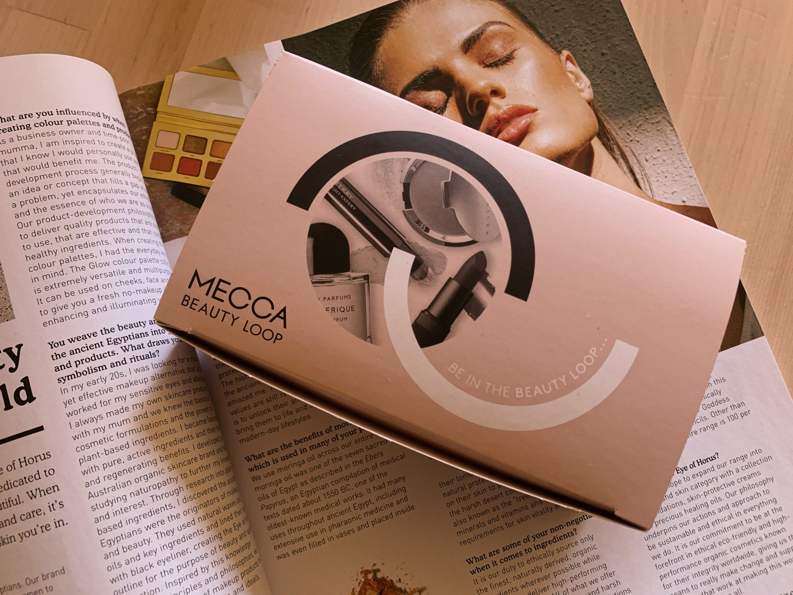 mecca beauty loop box makeup sephora level 1 level 2 level 3