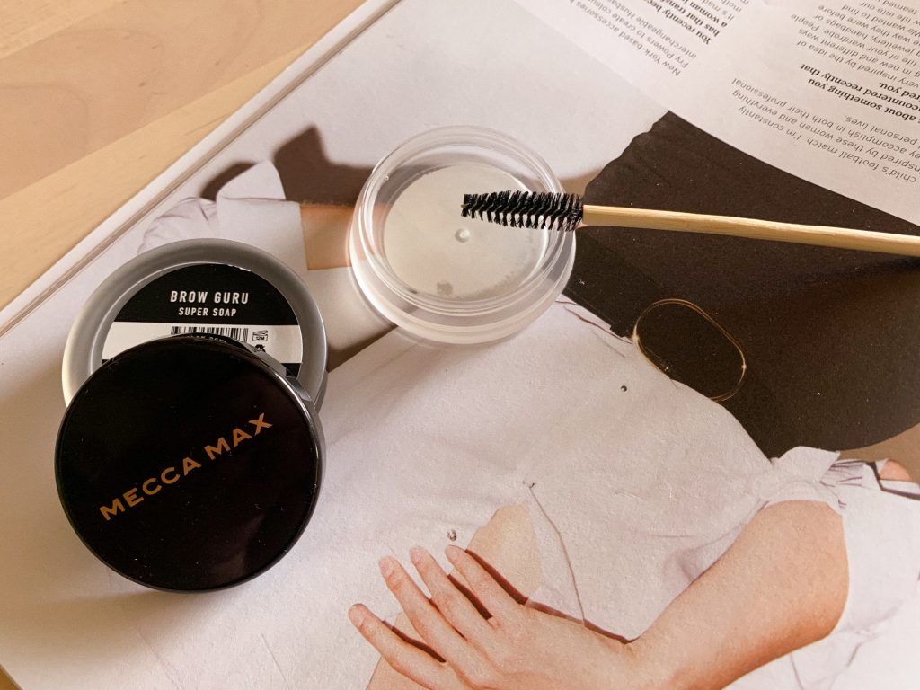MECCA MAX Brow Guru Super Soap brows makeup mecca max