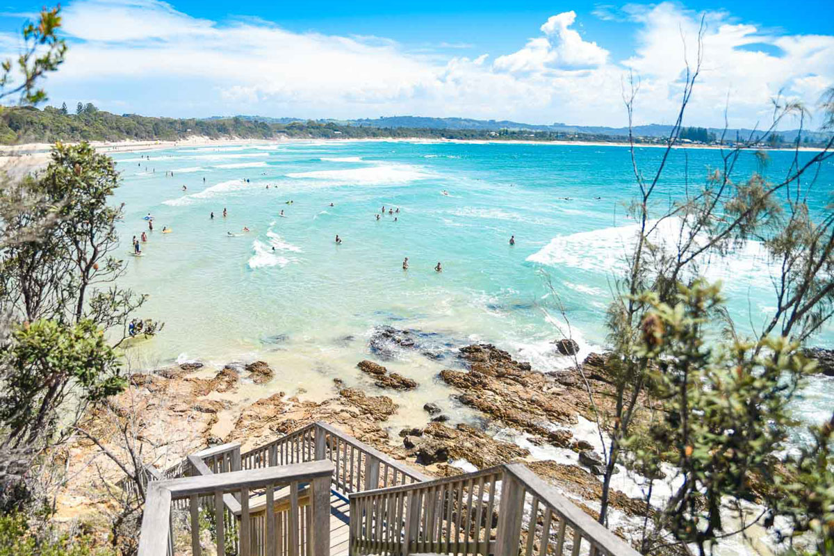 byron bay beach nsw visit holiday