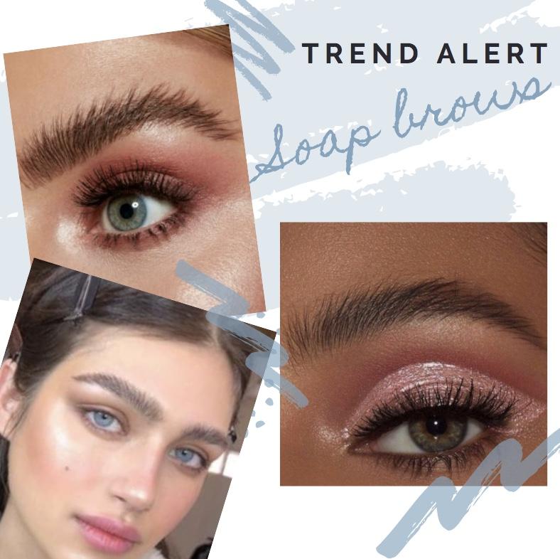 soap brows makeup trend pinterest y2k tiktok mecca
