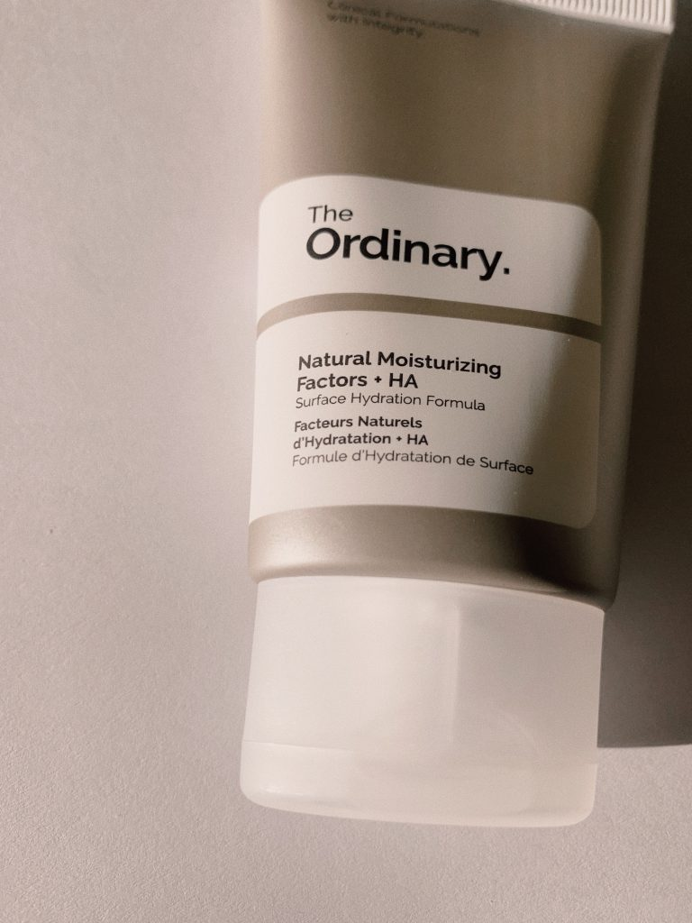 the ordinary moistursier natural moisturing HA