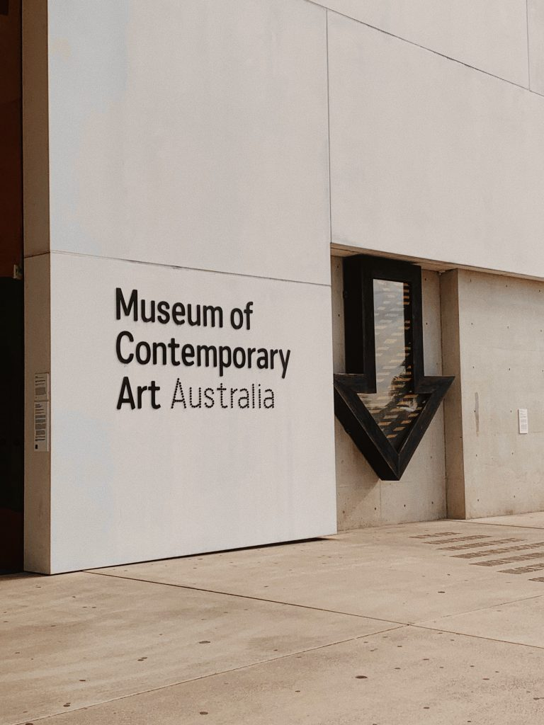 mca sydney art gallery contemporary