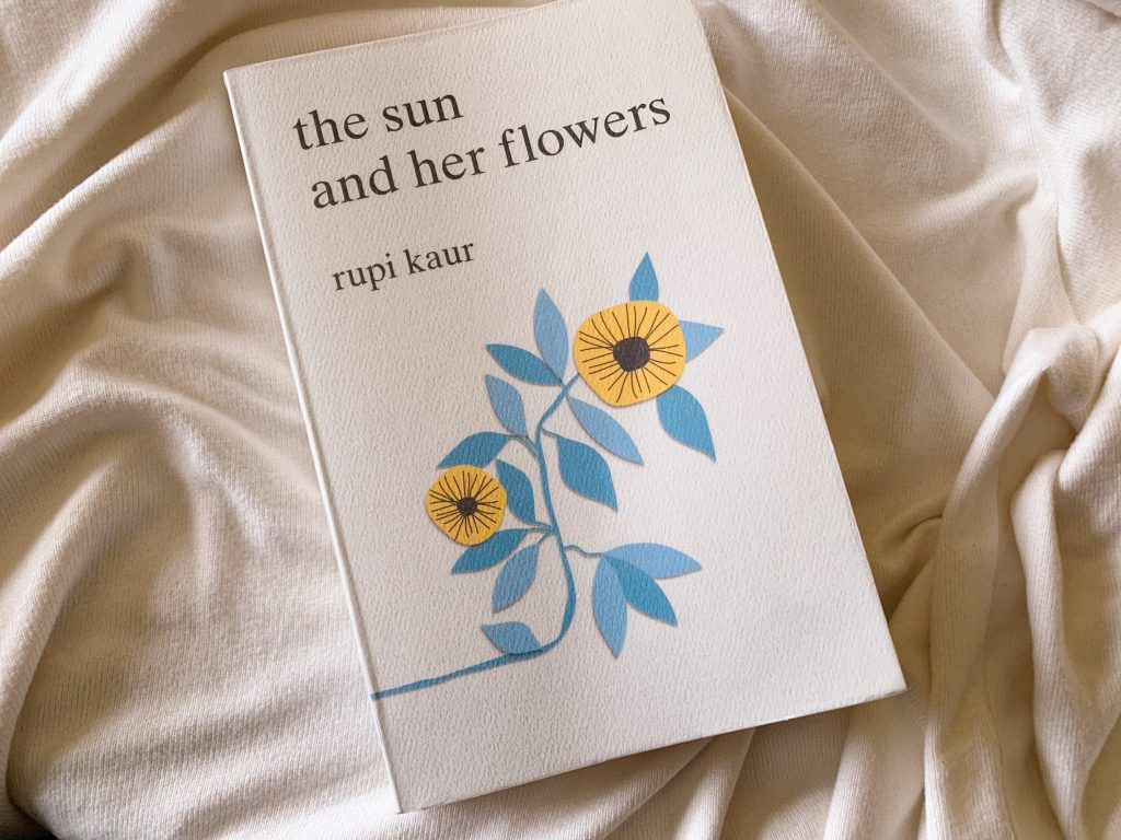 the sun and her flowers rupi kaur instapoetry poetry aesthetic poem book review