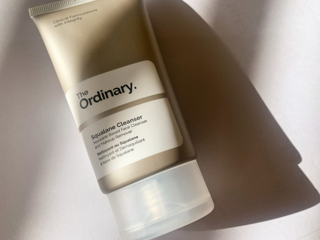 the ordinary squalane cleanser affordable drugstore skincare