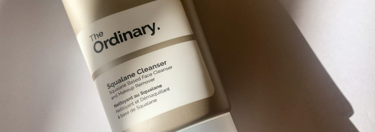 Skincare Review: The Ordinary Squalane Cleanser