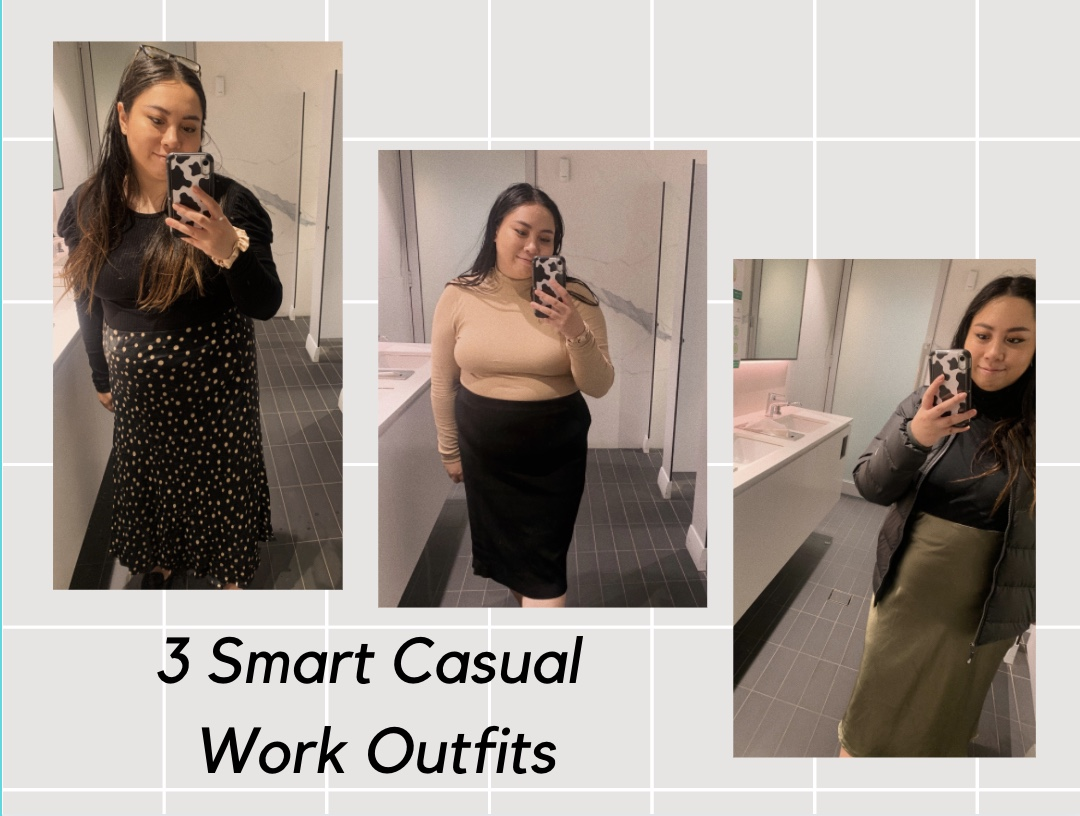 smart casual work outfit corporate