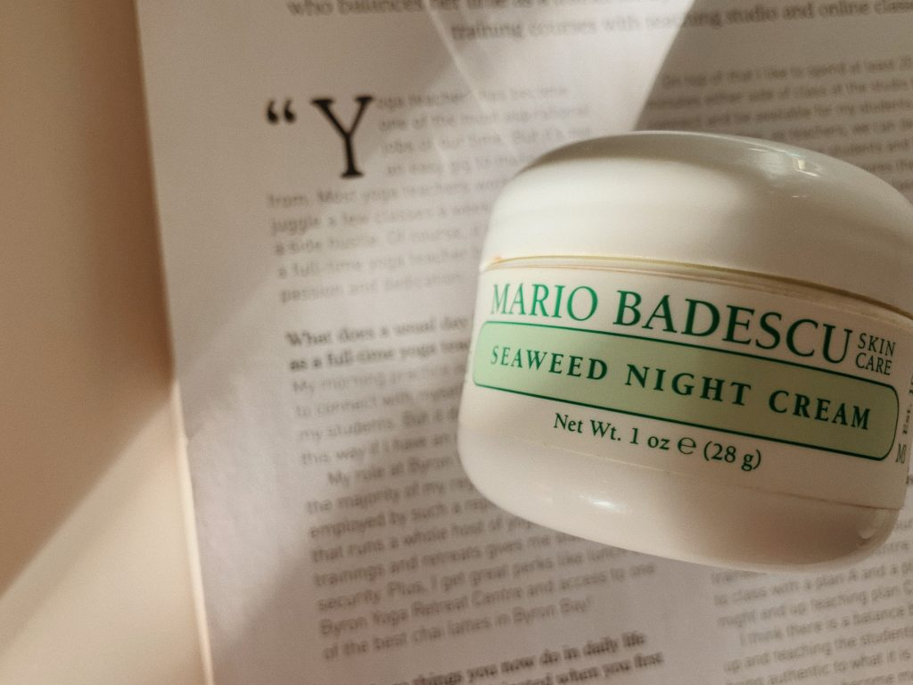 Mario Badescu Seaweed Night Cream moisturiser mecca skincare
