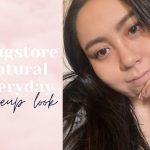 drugstore natural everyday makeup look tutorial